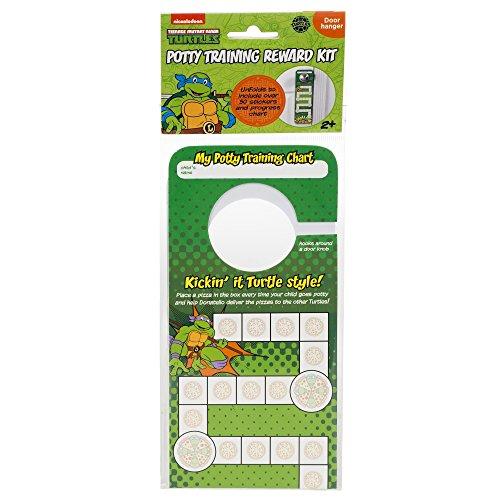 (Nickelodeon TMNT Door Hang Version Potty Rewards Kit)