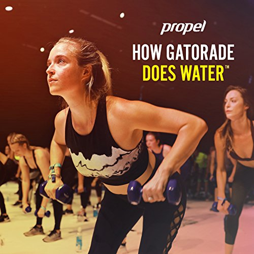 Propel Water Mandarin Orange Flavored Water With Electrolytes, Vitamins and No Sugar 16.9 Ounces (Pack of 6) by Propel (Image #1)
