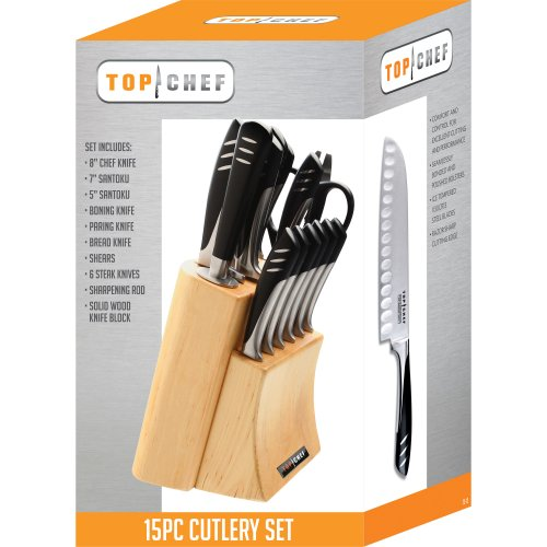 Top Chef by Master Cutlery, 15-Piece Knife Set