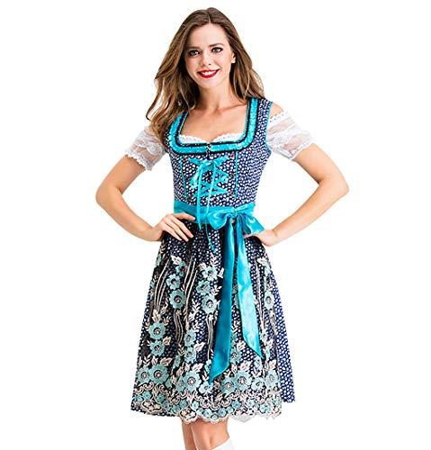 MoonHome Women's German Dirndl Dress Costumes for