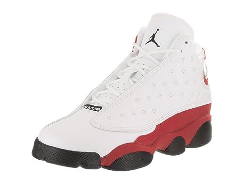 5e4e5c072f5 Jordan Boys Preschool Retro 13 Basketball Shoes Black