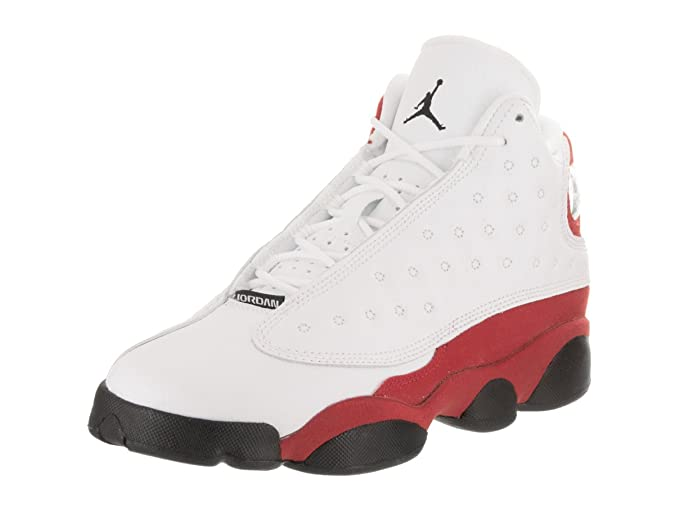 db81f71d35ac ... Hologram Grey  retail prices 35ef8 3fd95 Amazon.com Jordan Retro 13  Preschool Boys Basketball Shoes BlackAnthracite 916907 ...