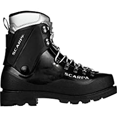 When you need a high-performance mountaineering boot that has been tested and trusted on the world's mountains, you need Scarpa's Inverno Mountaineering Boot. Protect your feet with a Pebax shell that remains strong, yet flexible, even in ext...