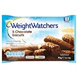 Weight Watchers Chocolate Biscuits 5 x 18g - Pack of 2
