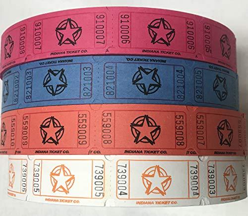 roll of tickets purple - 7