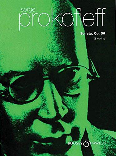 Prokofiev: Sonata for 2 Violins, Op. 56