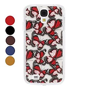 Exquisite Butterfly Pattern Hard Case for Samsung Galaxy S4 I9500 (Assorted Colors) --- COLOR:Yellow