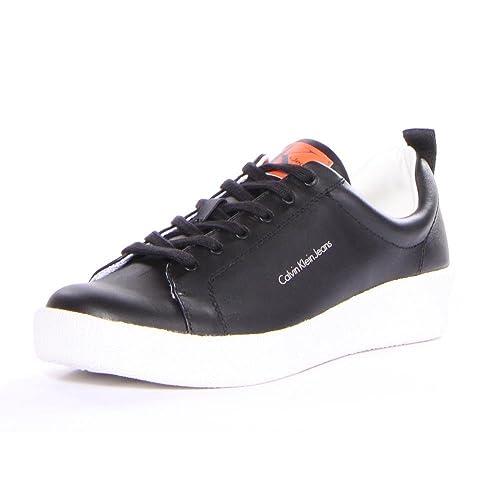 Calvin Klein Gerald Nappa, Zapatillas para Hombre: Amazon.es: Zapatos y complementos