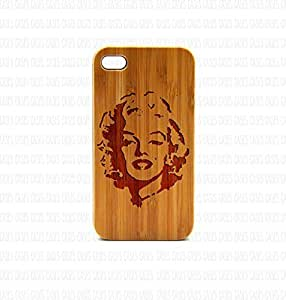 Krezy Case Real Wood iPhone 6 Plus Case, marilyn monroe iPhone 6 Plus Case, Wood iPhone 6 Plus Case, Wood iPhone Case,