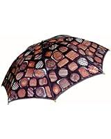 Salamander Graphix - Adult Chocolates Candy Automatic Folding Umbrella