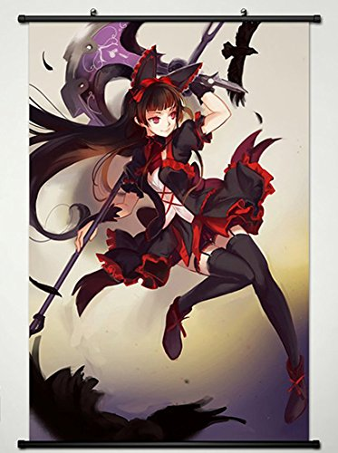 Wall Scroll Poster Fabric Painting For Anime Gate Thus the J