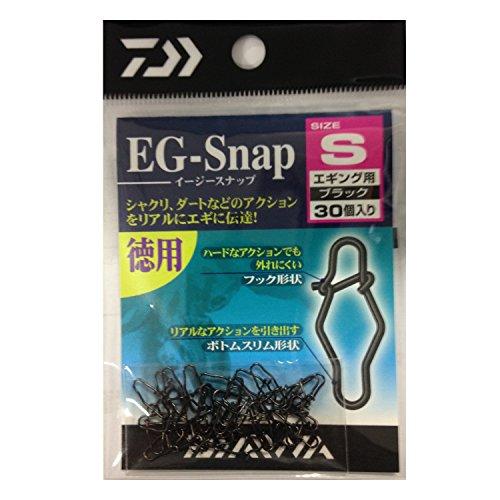 ダイワ(Daiwa) スナップ EGスナップ M ブラック徳用の商品画像