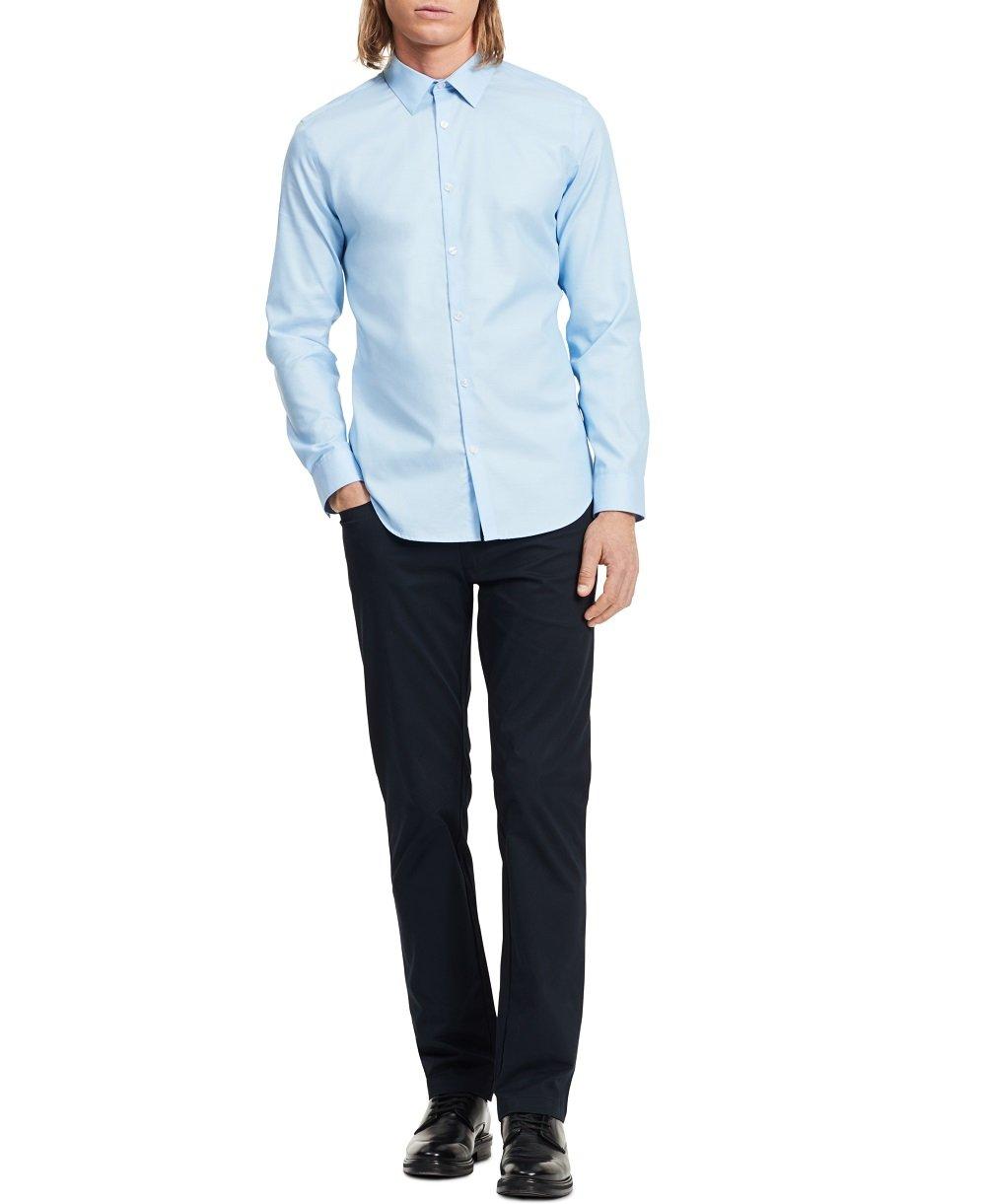 Calvin Klein Infinite Non Iron White Slim Fit Dress Shirt