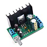 Icstation TDA2050 25W Mini Mono Digital Audio Amplifier Power Amp Board with Volume Adjustable Knob
