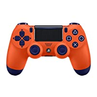 Manette sans fil Dual Shock 4 pour PS4 - sunset orange