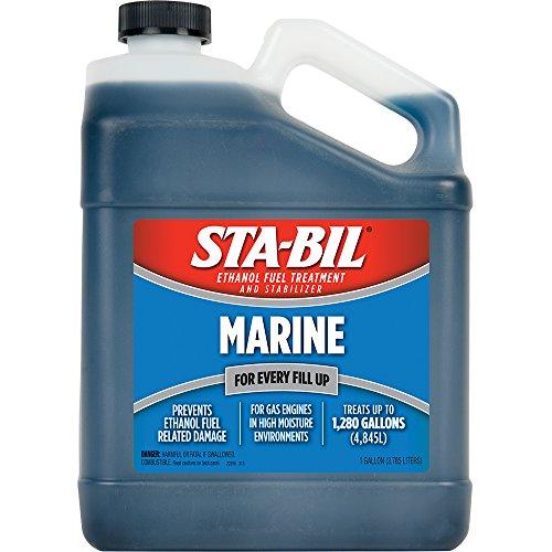 STA-BIL 22250-4PK Marine Formula Ethanol Fuel Enhancer, (Pack of 4) by STABIL