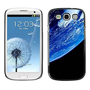 Carcasa Funda Prima Delgada SLIM Casa Case Bandera Cover Shell para Samsung Galaxy S3 I9300 / Business Style Planet Earth From Space