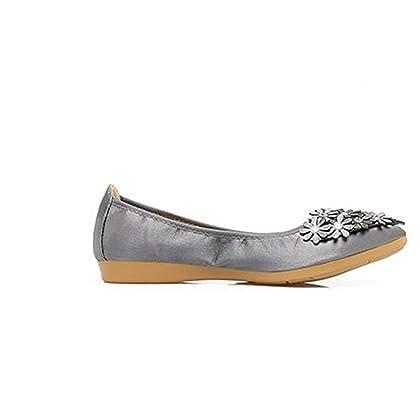 a92e25f66 Flats Hanglin Trade Womens Pointed Toe Ballet Flats Comfort Slip on Ballerina  Flat Shoes Women