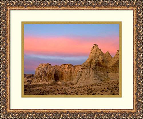 (Framed Wall Art Print | Home Wall Decor Art Prints | Sandstone Formations in Kaiparowits Plateau, Grand Staircase, Escalante National Monument, Utah by Tim Fitzharris | Traditional Decor)