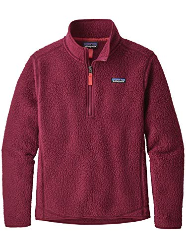 Pile Red Sweater Womens Arrow Quarter Zip Retro Patagonia Zq54wv5