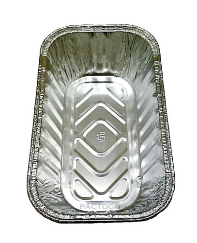 Handi-Foil 1 lb. Aluminum Foil Mini-Loaf/Bread Pan - Disposable Tins (pack of 200) by Handi-Foil (Image #2)