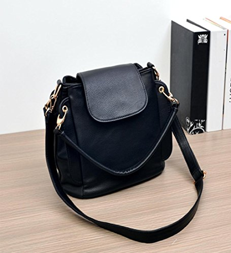 Bag Beibao Shoulder Bag Soft Handbag Leather Ladies Casual Bq7wxRq