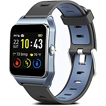 MorePro GPS Smart Watch with 17 Sports Mode Cycling Running Watches IP68 Swimming Waterproof Fitness Tracker, Heart Rate Monitor Smartwatch for Women ...