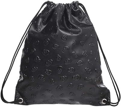 Amazon.com   Drawstring Backpack For Women Drawstring Bag Water Resistant  Bulk Waterproof Large Girls Kids String Bags Gym Bag Sport Bag Heavy Duty  Storage Bag Cinch Sacks, Black   Drawstring Bags
