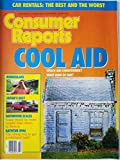 Consumer Reports July 1989 - Cool Aid: Which Air Conditioner? What Kind of Fan?/ Binoculars/ Japan's Best/ Bathroom Scales: Some Would be More Helpful Than Others to Dieters/ Bathtub Spas
