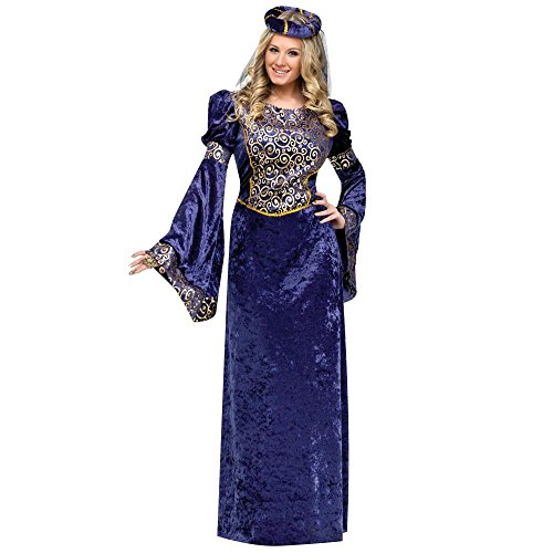 Renaissance Maiden Adult Costume,Medium/Large 10-14