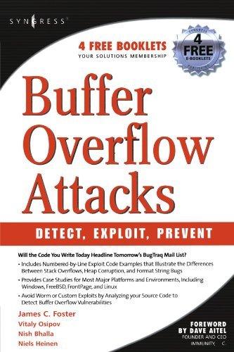 Buffer Bruce - Buffer Overflow Attacks: Detect, Exploit, Prevent by James C. Foster (2005-03-07)