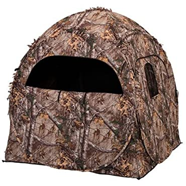 Evolved Ingenuity 1RX2S010 Hunting Doghouse Ground Blind, Camo Pattern, 60 x 60 x 66-In.