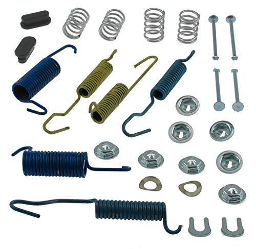 ACDelco 18K1602 Professional Front Drum Brake Hardware Kit with Springs, Pins, Retainers, Washers, and Caps