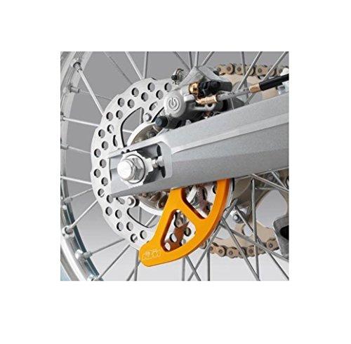 NEW KTM ORANGE REAR BRAKE DISC GUARD SX XC EXC 2004-2012 -