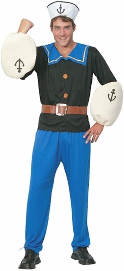 Sailor Man Mens Fancy Dress Costume One Size (disfraz): Amazon.es ...