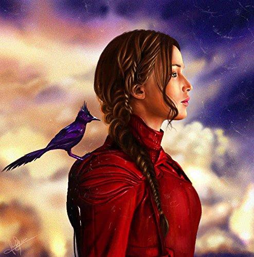 The Hunger Games Jennifer Lawrence Birds Mockingjay Part 2, Katniss Everdeen Wall Art, Pop Art, Poster, Art Prints | Rare Posters ()