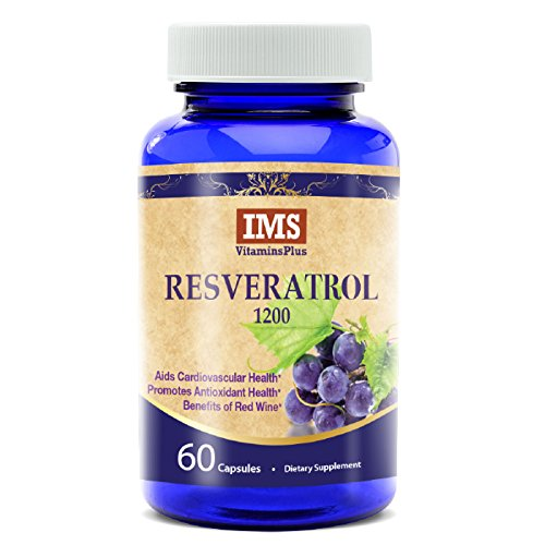 Natural Wealth 250 Tablets (Resveratrol 1200mg Supplement – Polyphenol Rich Blend with Grape Seed Extract, Green Tea and Acai Berry for Maximum Antioxidant, Skin Care and Anti-Aging Benefits - 30 Day Supply - 60 Veggie Capsules)