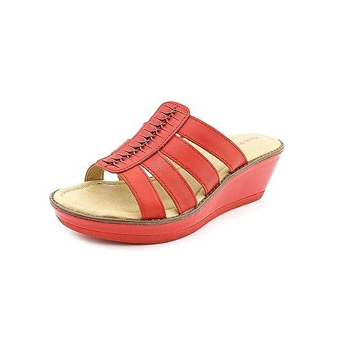 Amazoncom Hush Puppies Womens Roux Slide Dress Sandal Slides