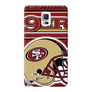 Shock Absorbent Hard Cell-phone Case For Samsung Galaxy Note 4 With Provide Private Custom High-definition San Francisco 49ers Pictures JacquieWasylnuk