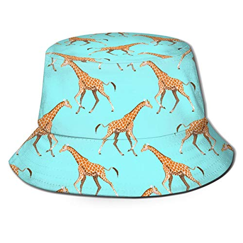 Shudianhaksdp Giraffe Hat Bucket Hat Fisherman Hat Summer Cap