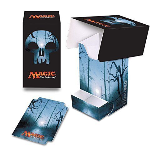Ultra Pro Mana 5 Unhinged Swamp Full View Deck Box with Tray