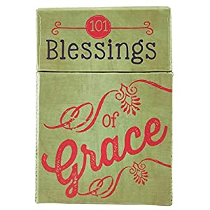 """Best Epic Trends 51jOM1IufaL._SS300_ Retro Blessings """"101 Blessings of Grace"""" Cards - A Box of Blessings"""