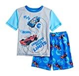 Komar Kids Hot wheels Boys 2 Piece Pajama Shorts Set (4-7) (8)