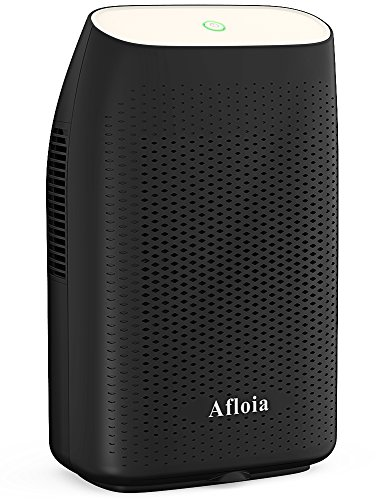 Afloia Dehumidifier for Home 2000ML(68 oz) Water Tank, Portable Quiet Dehumidifier 2200 Cubic Feet(269 sq.ft) Home Electric Dehumidifiers for Bathroom Space Bedroom Kitchen Caravan Office Basement by Afloia