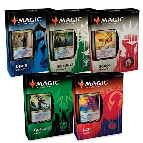 (Magic: The Gathering Guilds of Ravnica Guild Kits   All 5)
