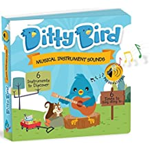 Ditty Bird Our Best Interactive Instrumental Music Book for Babies. Educational Toys for one Year Old. Toddler Musical Sound Book. Musical Instruments Learning Toys. 1 Year Old boy Girl Gifts.