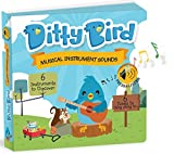 Ditty Bird Our Best Interactive Instrumental Music Book Babies. Educational Toys 1 Year Old. Toddler Musical Book to Learn Musical Instruments. Board Books 1 Year Old. 1 Year Old boy Girl Gifts.