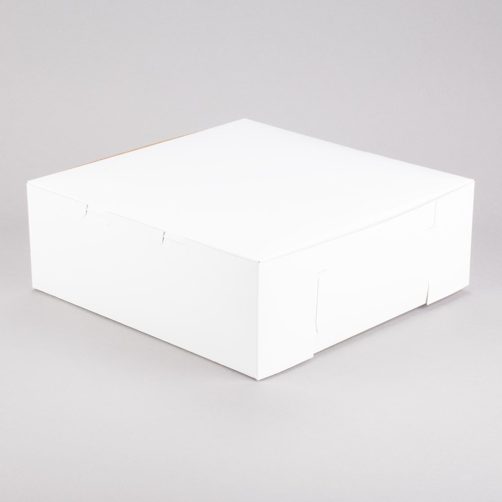 Southern Champion Lot of 10 Bakery or Cake Box White 14x14x6 by Southern Champion (Image #2)