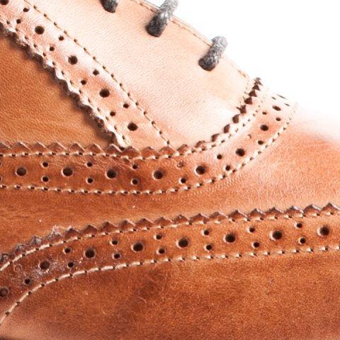 Travelin Business City Leder Brogue Schuhe