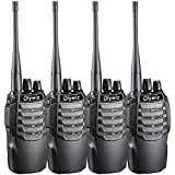 Walkie Talkies Portable 1800MAH Li-ion Battery Long Range Olywiz-826 Two Way Radios Special Designed in Sport Cars Appearance HTD-826 4 Pack